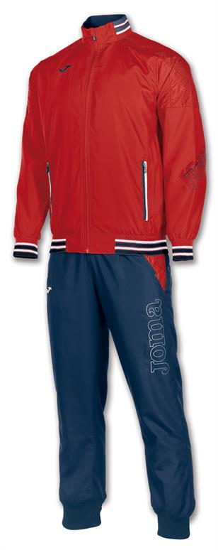 Joma Tracksuit Poly Torneo Red/Navy